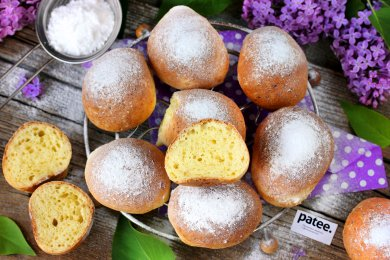 Рецепт Творожные пончики в духовке