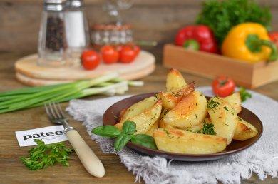 Рецепт Картошка по-деревенски