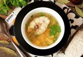 Рисовый суп с хеком