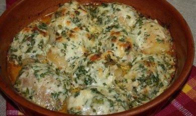 Рецепт Картофель в чесночном соусе
