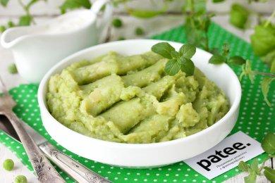 Рецепт Картофельное пюре с зелёным горошком и мятой