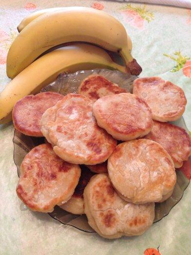 Рецепт Сырники банановые