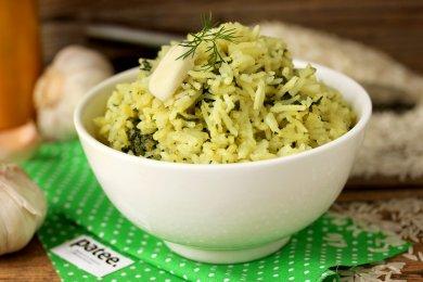 Рецепт Рис басмати со шпинатом в мультиварке — рецепт для мультиварки