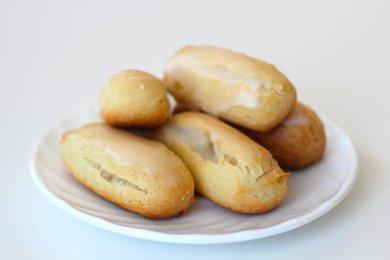 Рецепт Эклеры в сахарной глазури