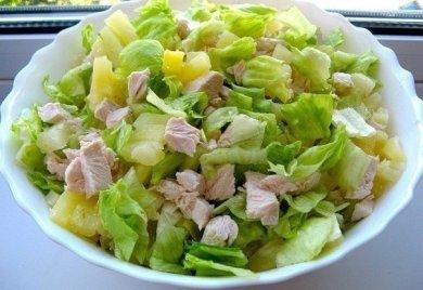 Рецепт Легкий салатик