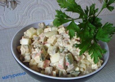 "Рецепт Салат ""Аленка"""