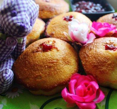 Рецепт Быстрые кексы с вареньем