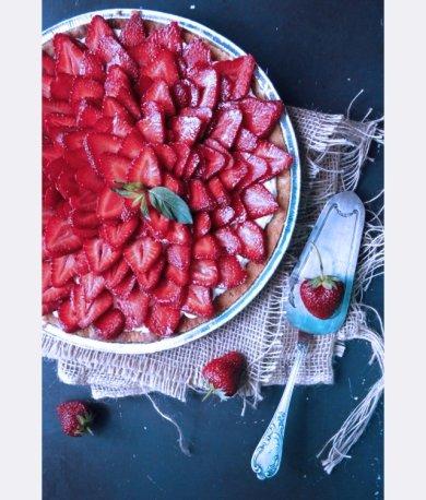 Рецепт Клубничный тарт