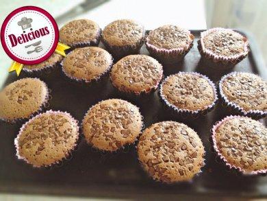 Рецепт Шоколадные кексы без муки!