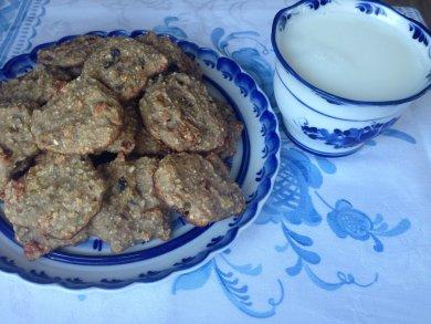Рецепт Бананово-овсянное печенье