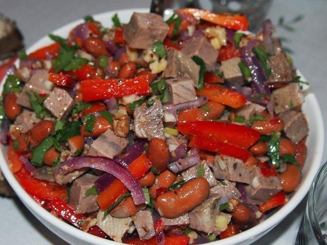 Салат грузия рецепт