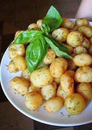Рецепт Запеченная картошка.