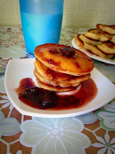 Рецепт Оладушки на кефире