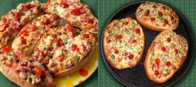 Рецепт Горячие бутерброды! Вкусный быстрый перекус! — рецепт для аэрогриля