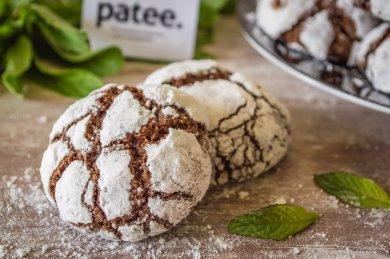 Рецепт Шоколадное печенье с мятой