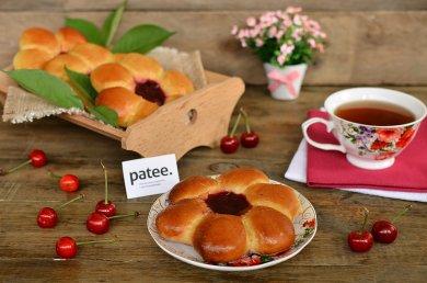 Рецепт Булочки Цветочки — рецепт для хлебопечки