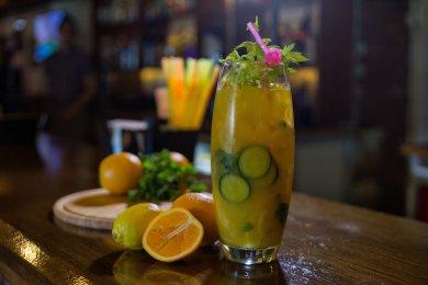 Рецепт Вода сасси с апельсином
