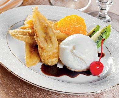 """Рецепт Десерт """"Банановый рай"""" — рецепт для фритюрницы"""