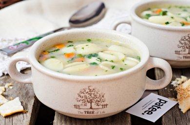 Рецепт Овощной суп с пастой