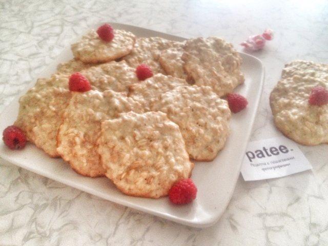 Печенье с геркулеса рецепт с пошагово