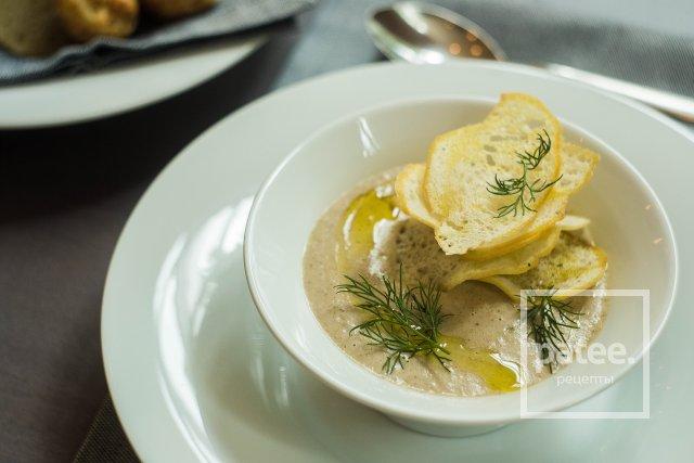 крем суп из шампиньонов рецепт say7