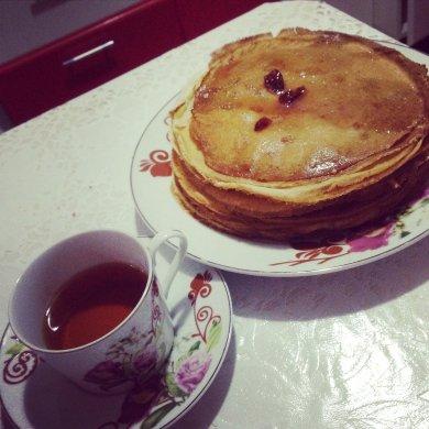 Рецепт кружевные блинчики