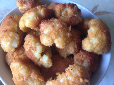 Рецепт Цветная капуста в сухарях — рецепт для фритюрницы