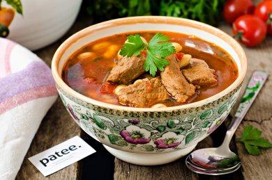 Рецепт Рагу из говядины с фасолью