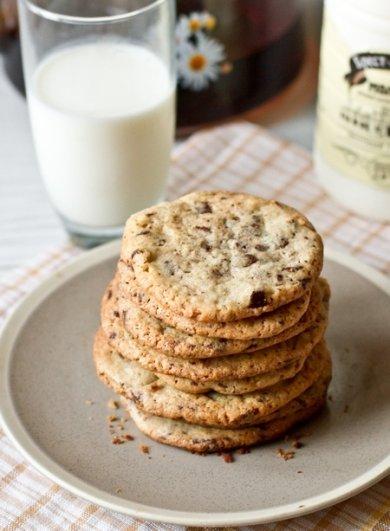 Рецепт Печенье с шоколадной крошкой