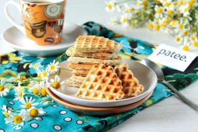 Рецепт Лимонные вафли с маком — рецепт для вафельницы