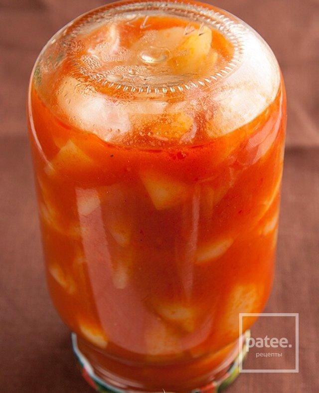 Перец в томатном соке рецепты