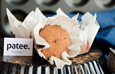Рецепт Шоколадные кексы с голубикой