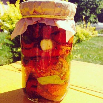 Рецепт Сушеные помидоры