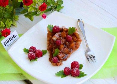 Рецепт Пирог с карамелизированной грушей