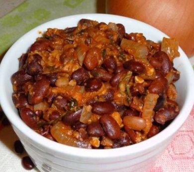 Рецепт Фасоль с орехами (лобио)