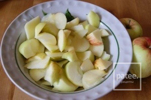 Фото рецепт пошаговый яблоки