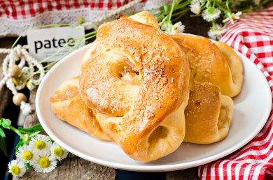 Рецепт Открытые пироги с яблоками