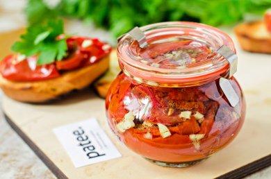 Рецепт Вяленые помидоры в микроволновке