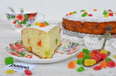 Рецепт Манник с цукатами