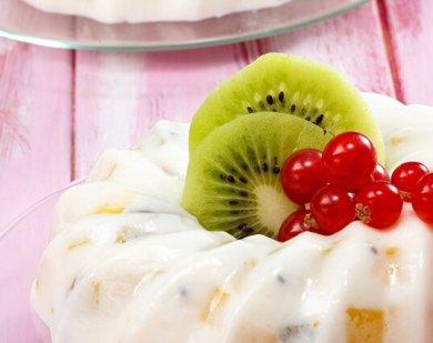Рецепт Десерт из киви и манго