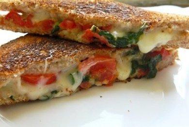 Рецепт Капрезе сэндвич