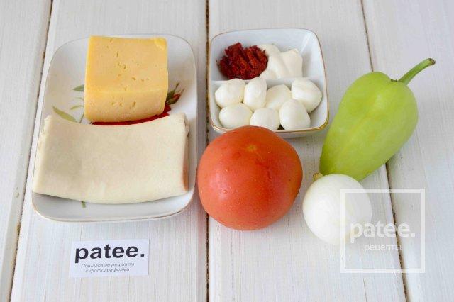 Калорийность пицца колбаса помидор сыр