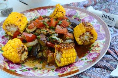Рецепт Овощи в пикантной заправке