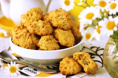 Рецепт Тыквенно-овсяное печенье с семечками