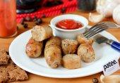Острые куриные колбаски