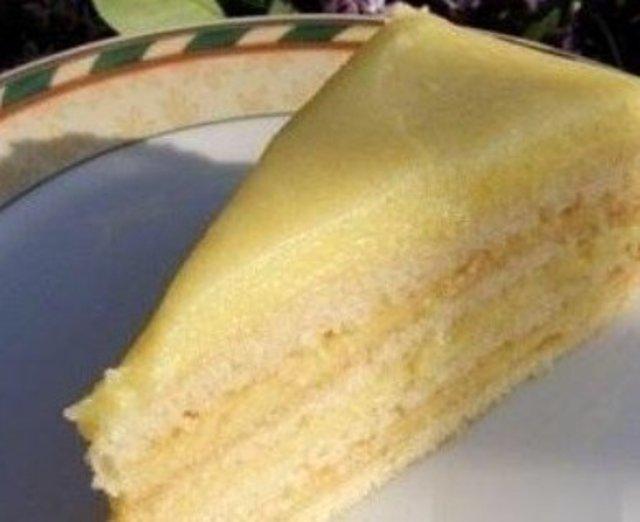 Рецепт торта творога с заварным кремом 78