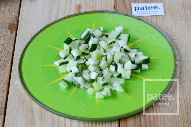 Салат из шампиньонов консервированных простой рецепт с