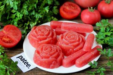 Как удобно заморозить помидоры на зиму