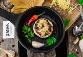 Фаршированные грибы по-турецки