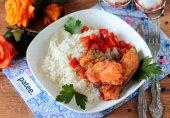 Сом с пряным рисом в мультиварке